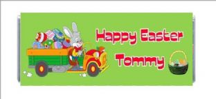 Easter Chocolate Candy Bar Wrapper Design 2